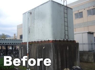 タンク外壁塗装